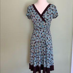 VTG Dress Barn 70s pattern ALine knee length dress
